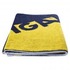 Towel STIGA Edge navy/yellow