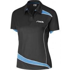 Shirt STIGA Lady Discovery black/diva