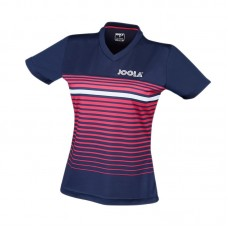 Shirt Joola Lady Stripes navy/pink/white