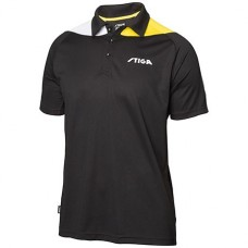 Shirt STIGA Pacific black/yellow/white