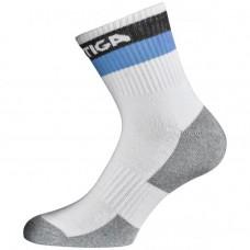 Socks STIGA Prime white/black/blue junior