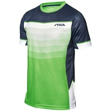 Shirt STIGA River lime green/navy/white