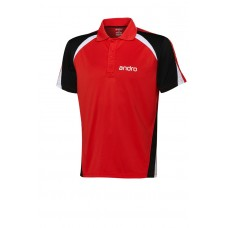 Shirt andro Edison red/black