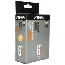 STIGA CUP 40+ (6 pcs, orange)