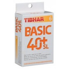 Tibhar Basic 40+ SL 6 pcs pack
