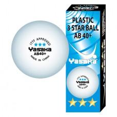 Yasaka AB40+ 3*** (3 pcs)